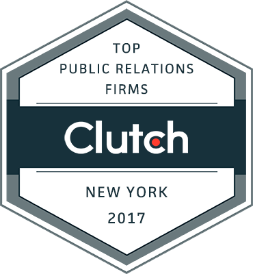 Clutch 2017 Press Release Features Marketing Maven as a Top NYC Public Relations Firm